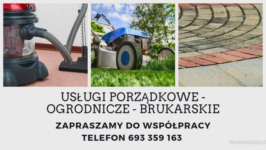 Usługi porządkowe i ogrodnicze. Legalna firma. Wystawiam faktury vat