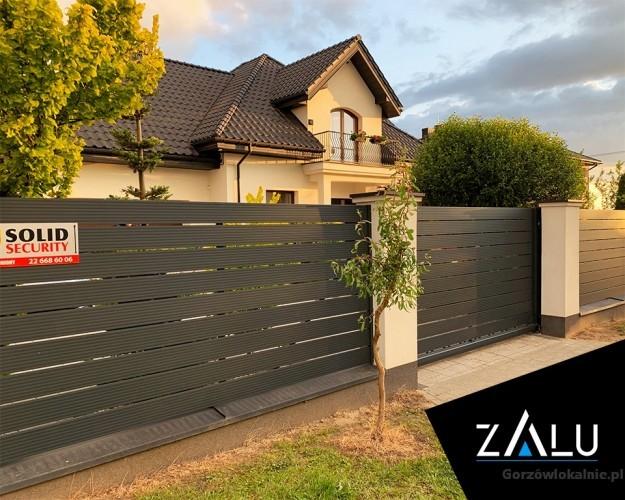 Aluminiowe ogrodzenia, furtki, bramy - produkcja i montaż
